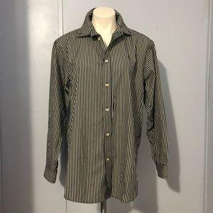 Ralph Lauren Striped Button Down Shirt Women's XL